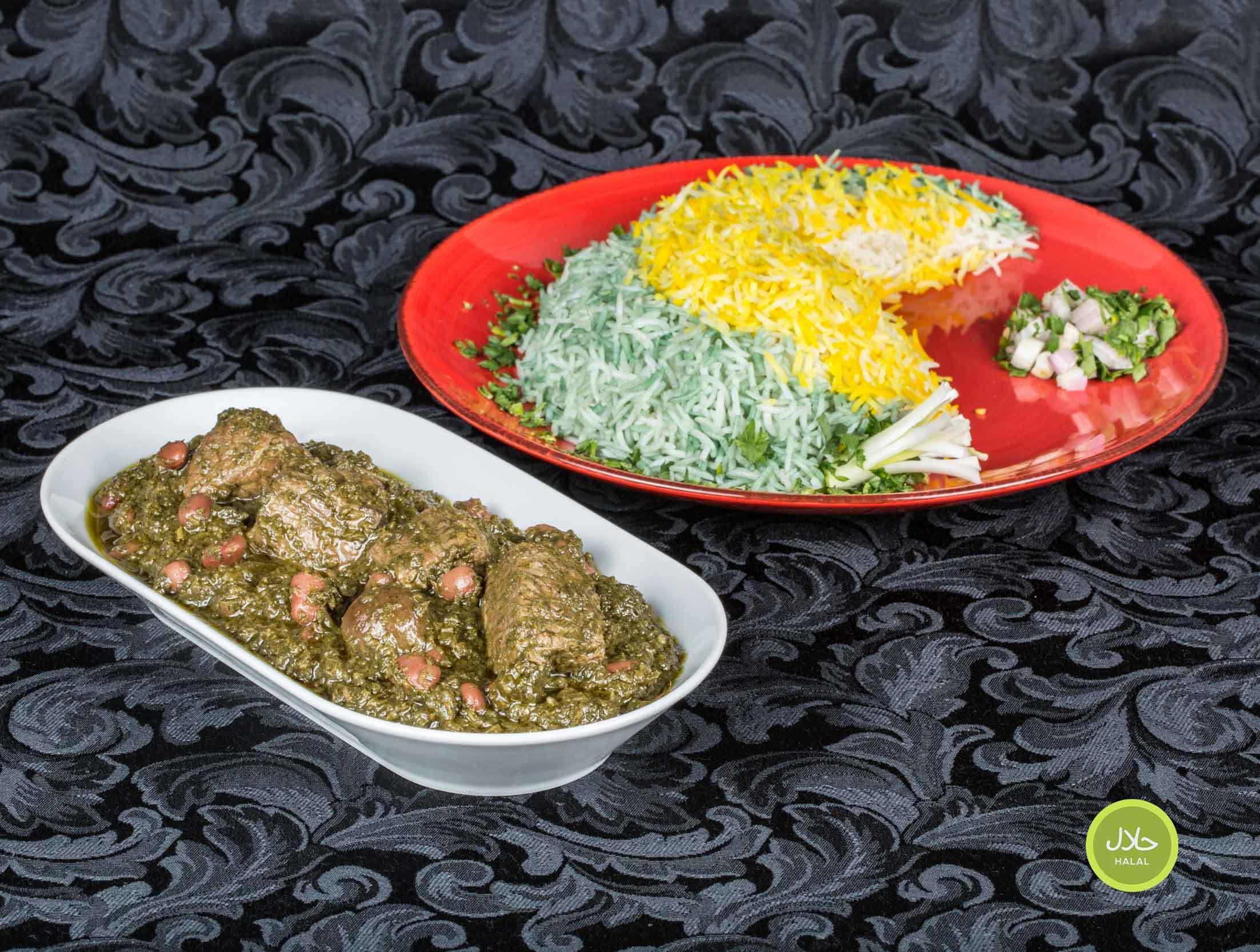 Ghormeh Sabzi halal